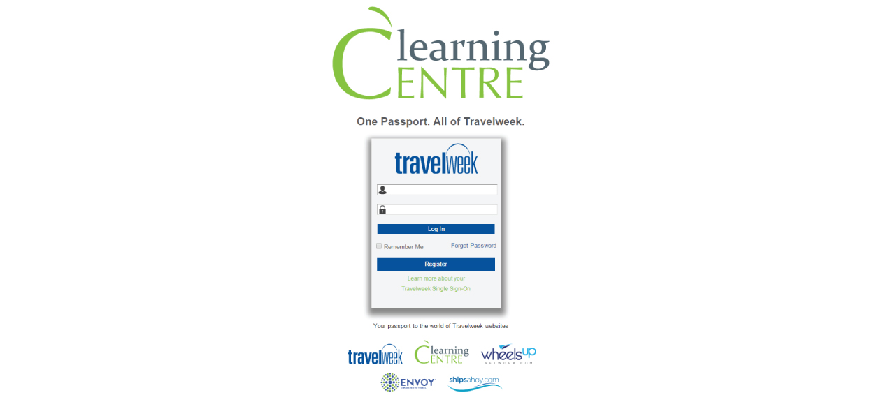 Travelweek Learning Centre: Single Sign-On