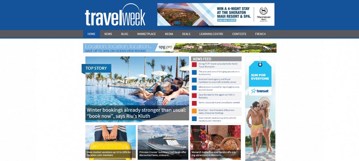 Travelweek Homepage